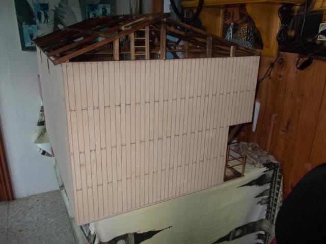 """Diorama: taller mecánico """"de toda la vida"""" escala 1/10 - Página 2 160"""