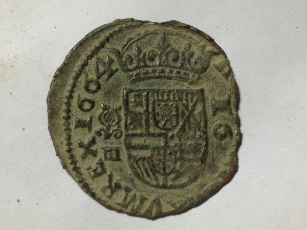 16 Maravedis de Felipe IV de 1664, Granada. IMG_1702
