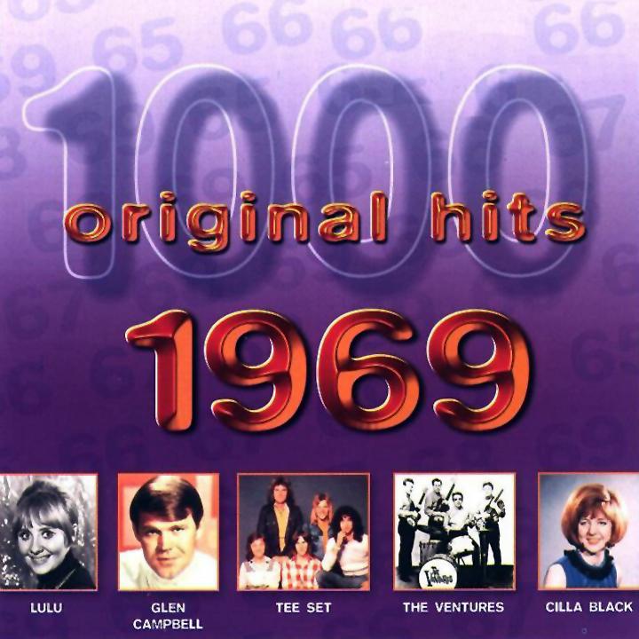 1000 Original Hits 1960-1999  1000_Original_Hits_1969_-_Front
