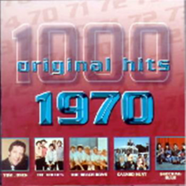 1000 Original Hits 1960-1999  1000_Original_Hits_1970_-_Front