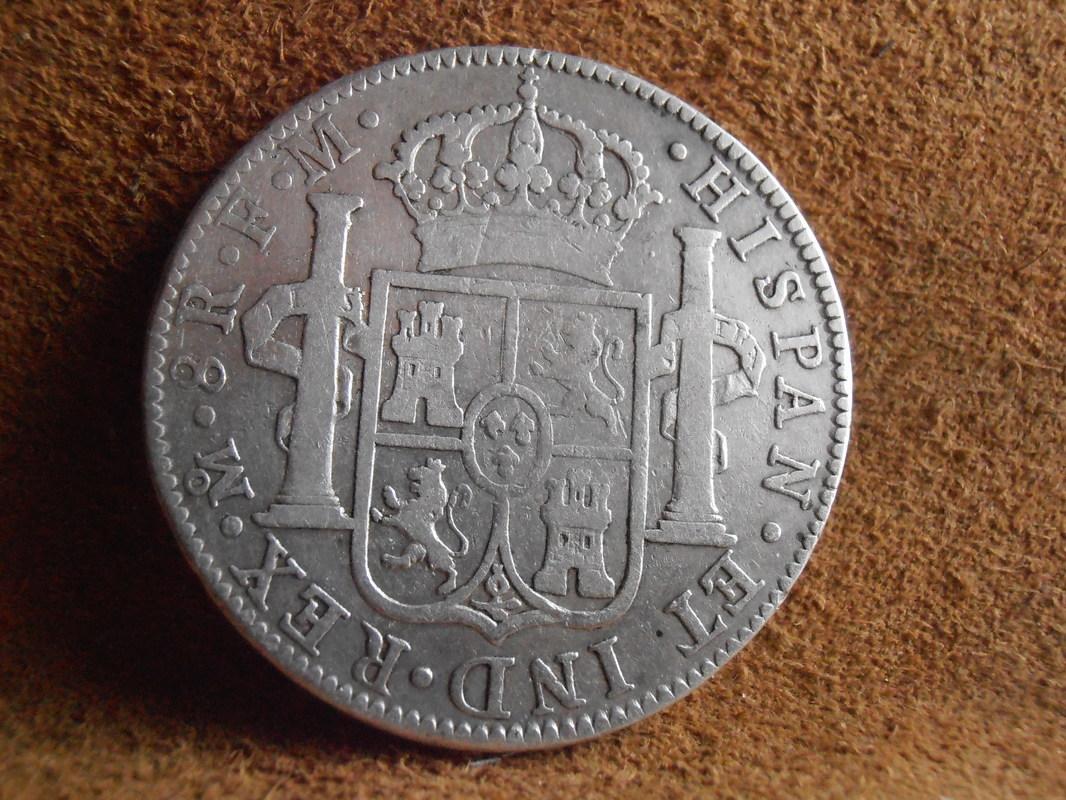 8 Reales 1790. Carlos IV. Méjico  P3260053