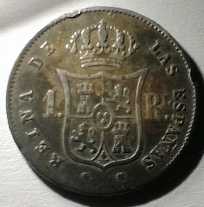 1 real 1857 Isabel II. ¿Error de acuñacion? 20160918_195250_2