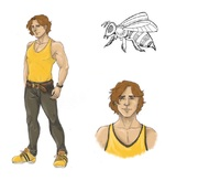 From the Cocoon Tf_bee_human_form_by_brabarmoony-d6isztw