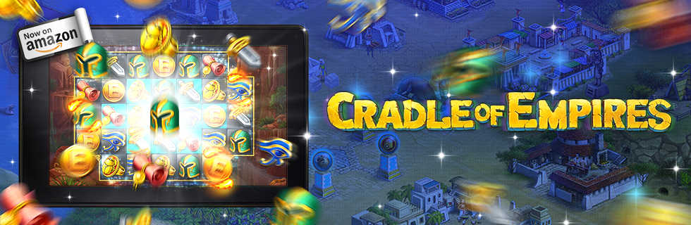 Cradle of Empires is available on the Amazon Appstore, it is fresh from the oven! Cradle_of_empires_amazon