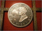 1 peso Filipinas 1970 visita papal PB010450