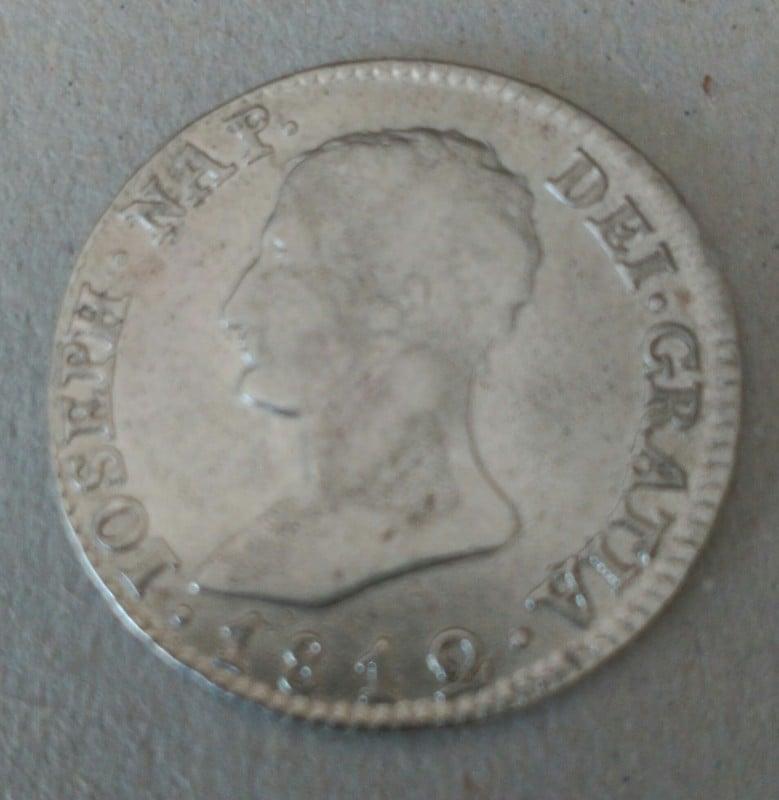 4 reales 1812. Jose Napoleón. Sevilla 2_2