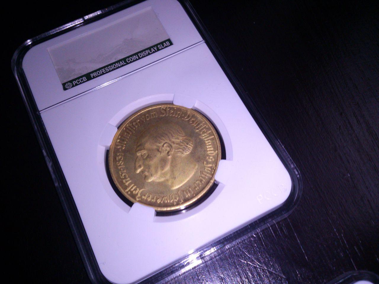 Monedas de emergencia emitidas por el banco regional de Westphalia DSC_8551
