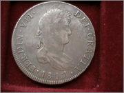 8 Reales 1817 -  Ultimo Duro Realista de la Ceca de Santiago  DCAM0013