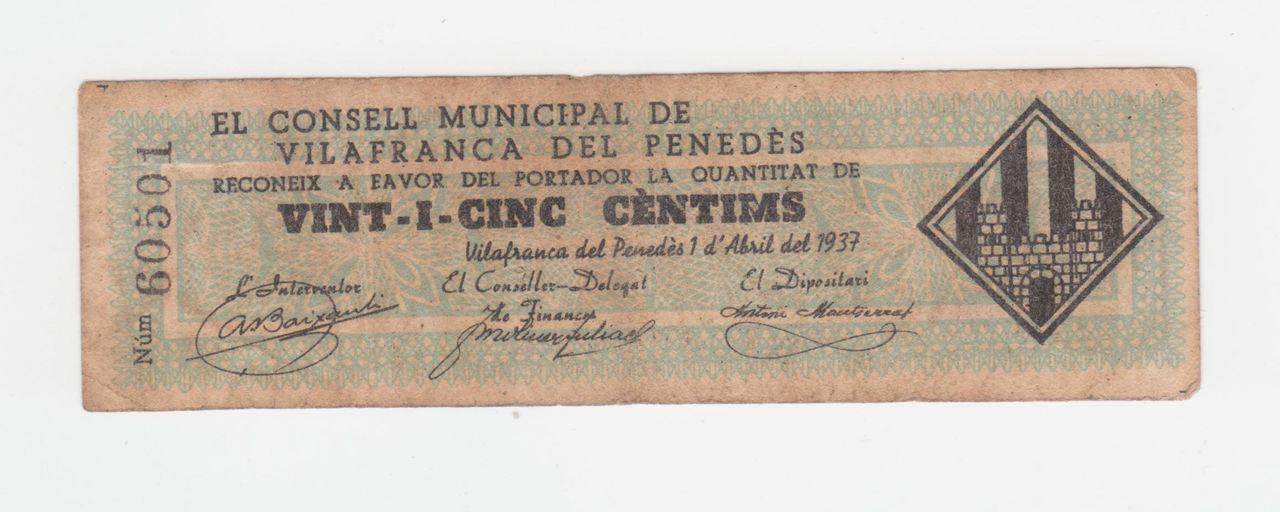 25 Céntimos Vilafranca del Penedés, 1937 25_centimos_villafranca_del_penedes