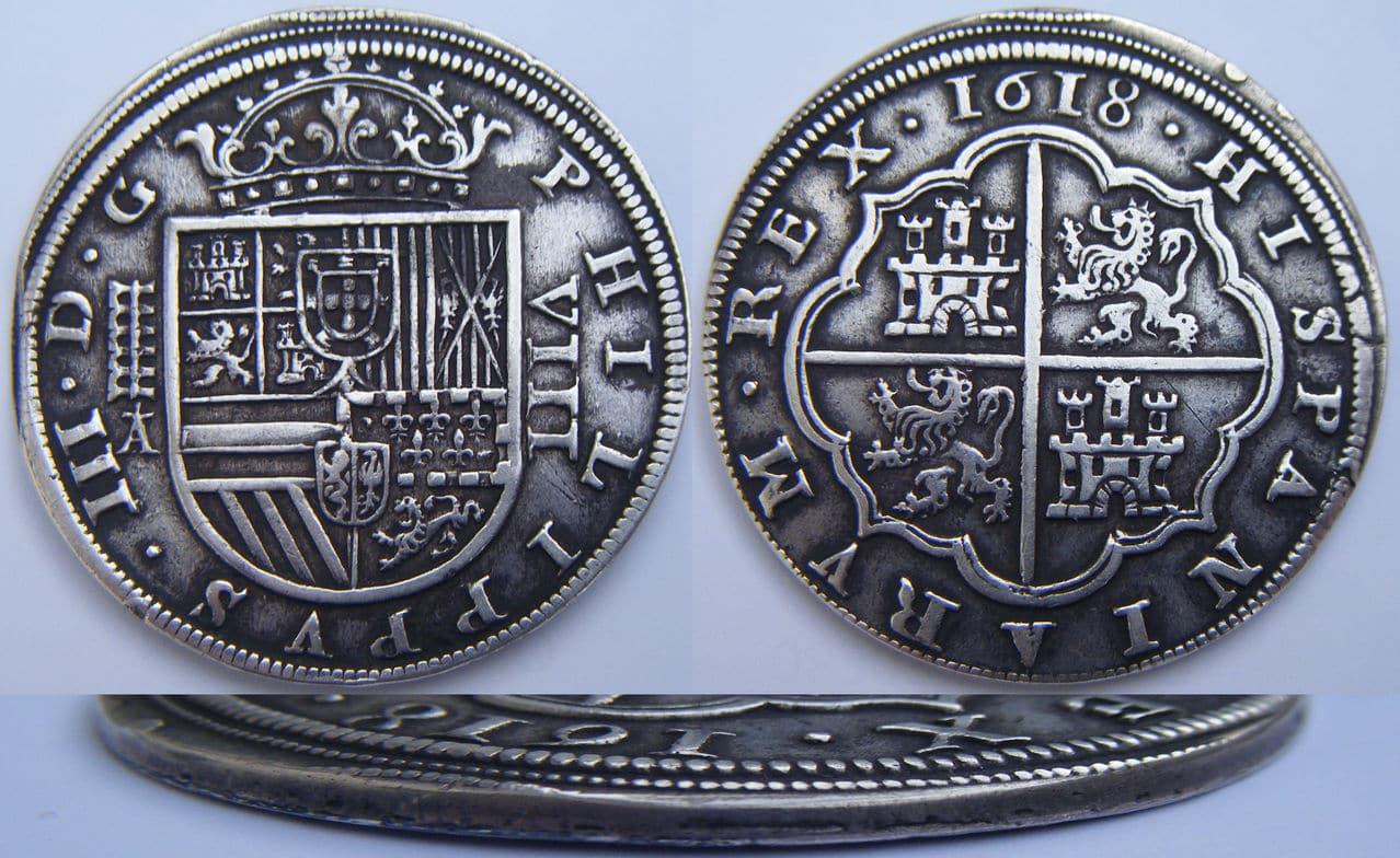 8 reales 1618. Felipe III. Real Ingenio de Segovia 8_R_Felipe_III_1618_Segovia