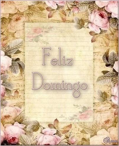 Papel Carta Antiguo DOMINGO