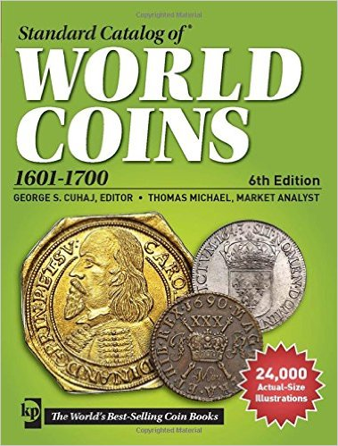 2015 Standard Catalog Of World Coins 1601-1700 61ye_Oq