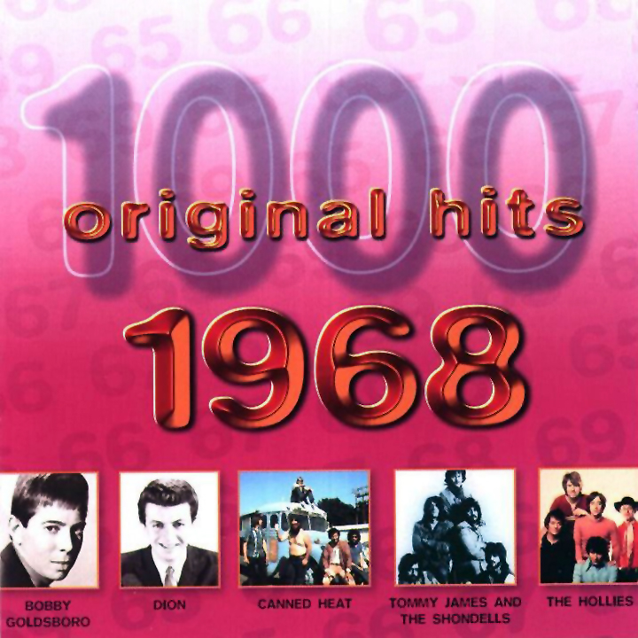 1000 Original Hits 1960-1999  1000_Original_Hits_1968_-_Front