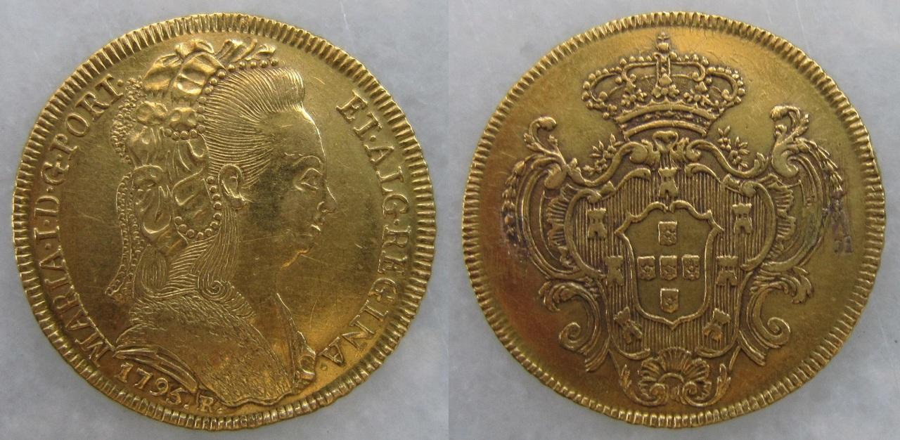 4 Escudos. Maria I de Portugal. 1795 4_escudos_R_o_de_Janeiro_1795