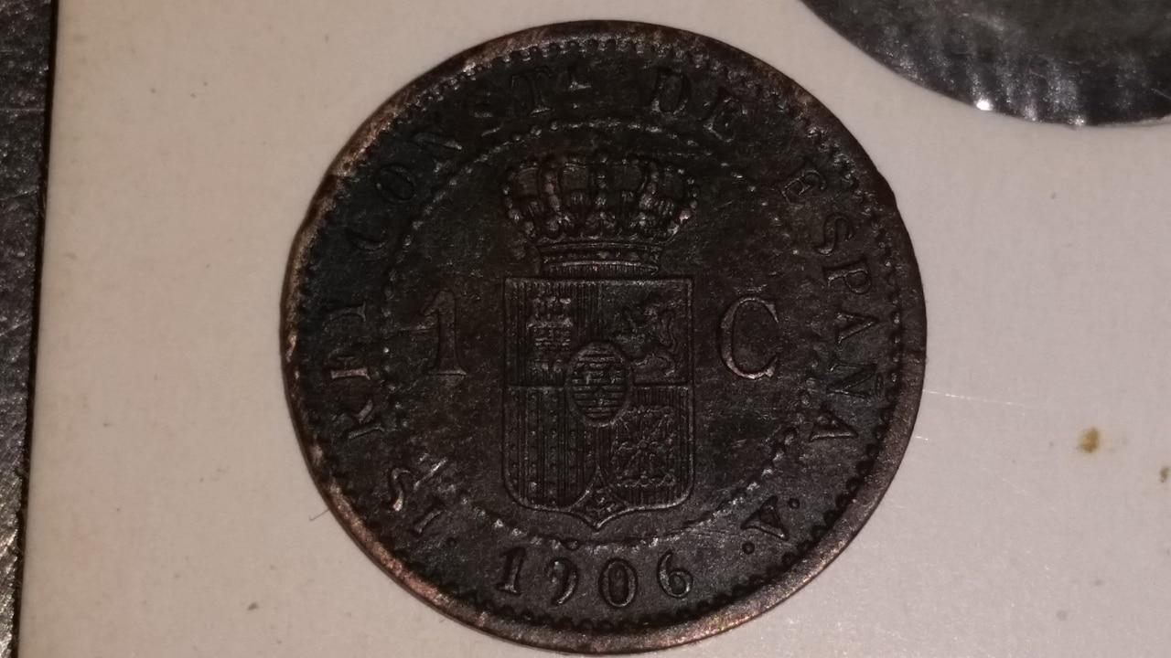 1 céntimo Alfonso XIII 1906 S I V 20160810_203025