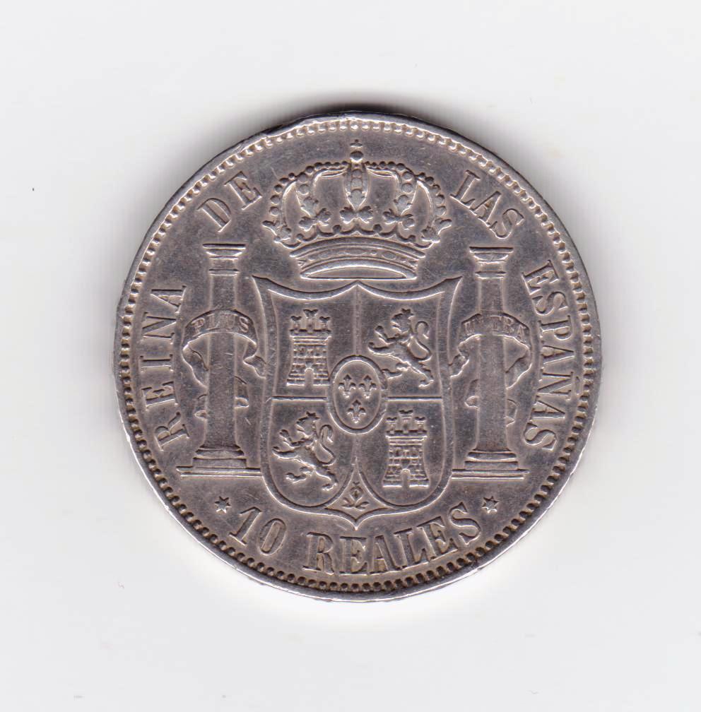 10 reales 1863 Madrid, Isabel II 10_reales_1863_001