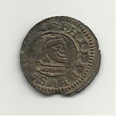 8 maravedis 1661. Felipe IV. Burgos. 8_maravedis_felipe_IV_1661_anver