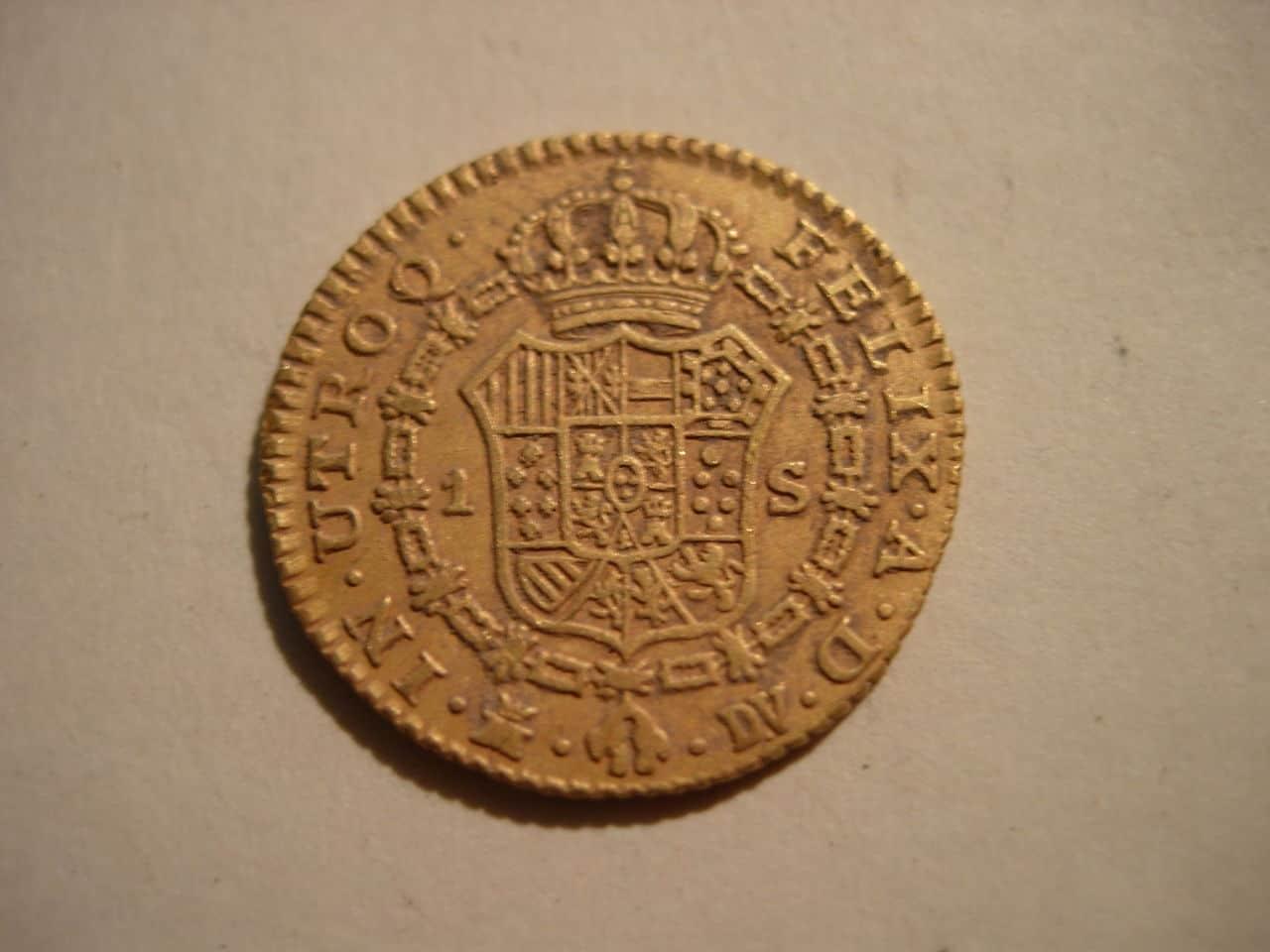 1 escudo 1787. Carlos III. Madrid Imagen_018