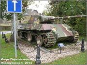 "Немецкий тяжелый танк PzKpfw V Ausf.G  ""Panther"",  rue D'Erezee, Manhay, Belgique Panther_Manhay_206"