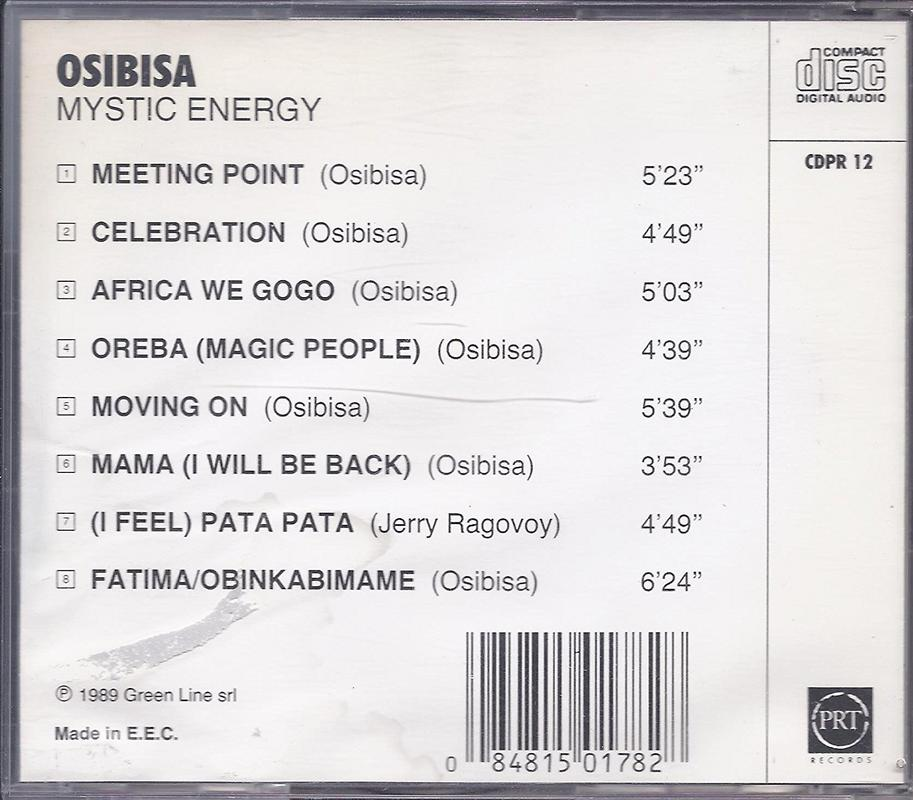 Osibisa Mistic-