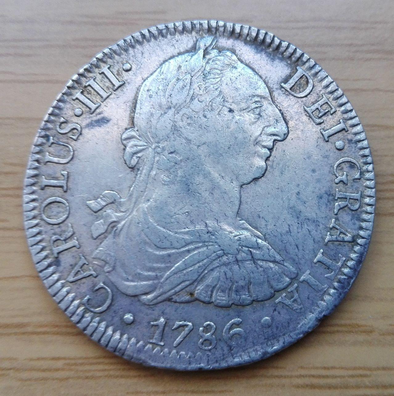 8 reales 1786, Méjico, Carlos III 8_resles_1786
