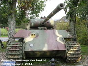 "Немецкий тяжелый танк PzKpfw V Ausf.G  ""Panther"",  rue D'Erezee, Manhay, Belgique Panther_Manhay_210"