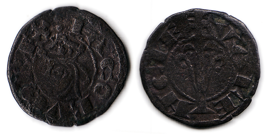 Dinero de Jaime I de Aragón  1239-1276 Valencia. 1108