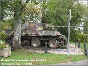 "Немецкий тяжелый танк PzKpfw V Ausf.G  ""Panther"",  rue D'Erezee, Manhay, Belgique Panther_Manhay_226"