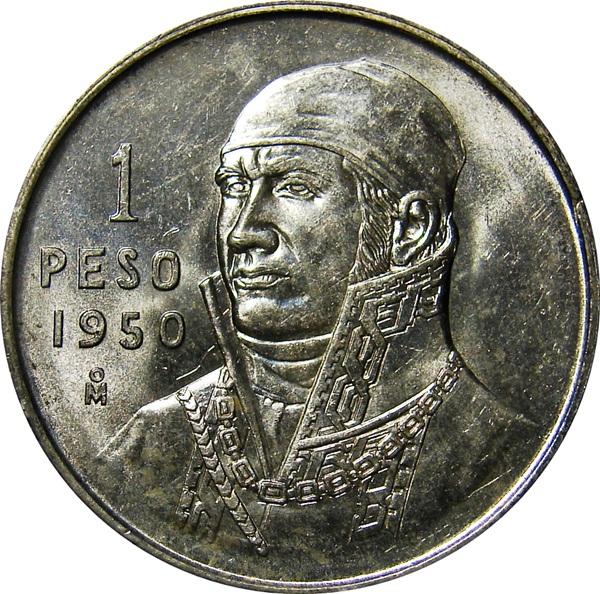1 Peso. 1971. México 50_REV