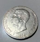 5 pesetas 1876. Alfonso XII IMG_20170603_005937_141