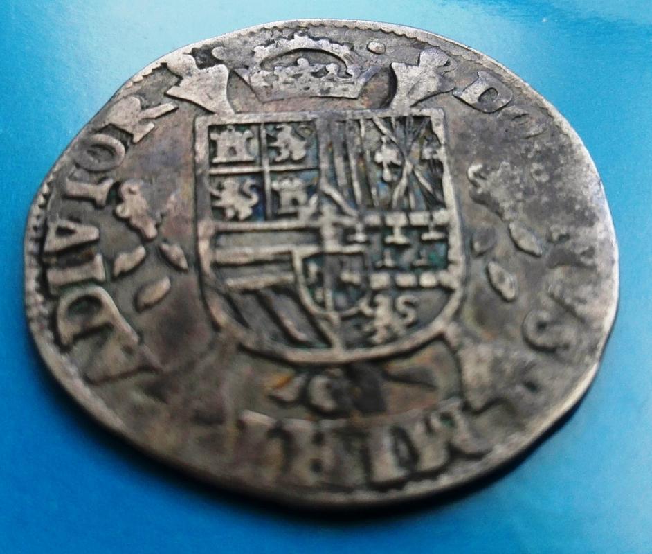 1/5 de Escudo de Felipe II de 1566. Acuñados en Hasselt IMG_20180318_163141