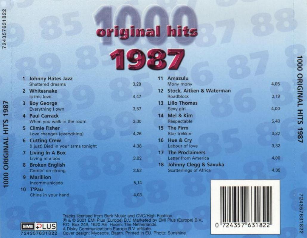 1000 Original Hits 1960-1999  - Stránka 2 1000_Original_Hits_1987_-_Back