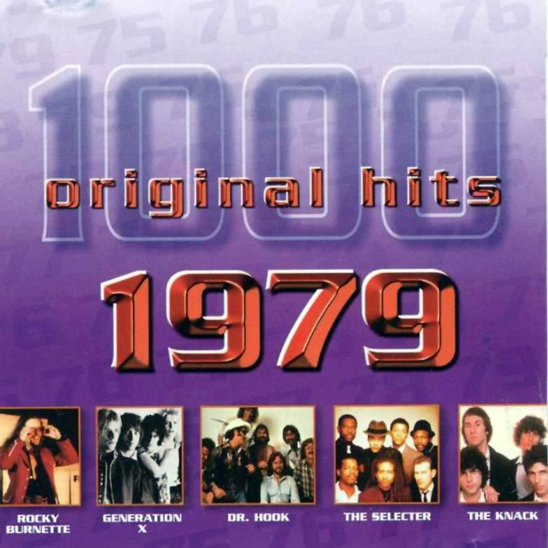 1000 Original Hits 1960-1999  1000_Original_Hits_1979_-_Front