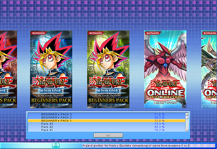 Yu-Gi-Oh online Duel evolution Packs-_YGOOEV