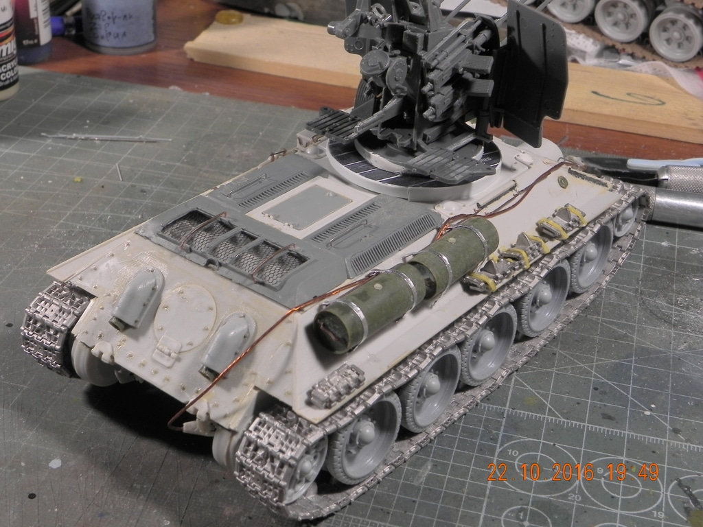 Flackpanzer 20mm T-34 DSCN7448
