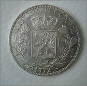 5 1872 Belgica Leopold II Image