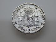 1 peseta  1891 P.G. M DSCN2333