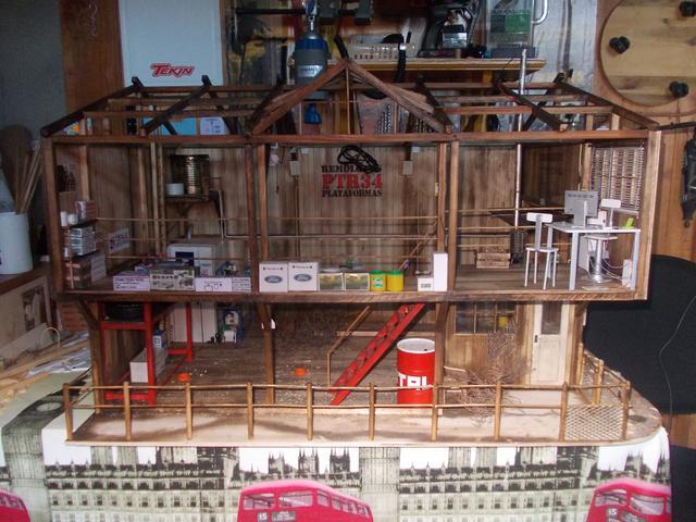 """Diorama: taller mecánico """"de toda la vida"""" escala 1/10 - Página 2 150"""