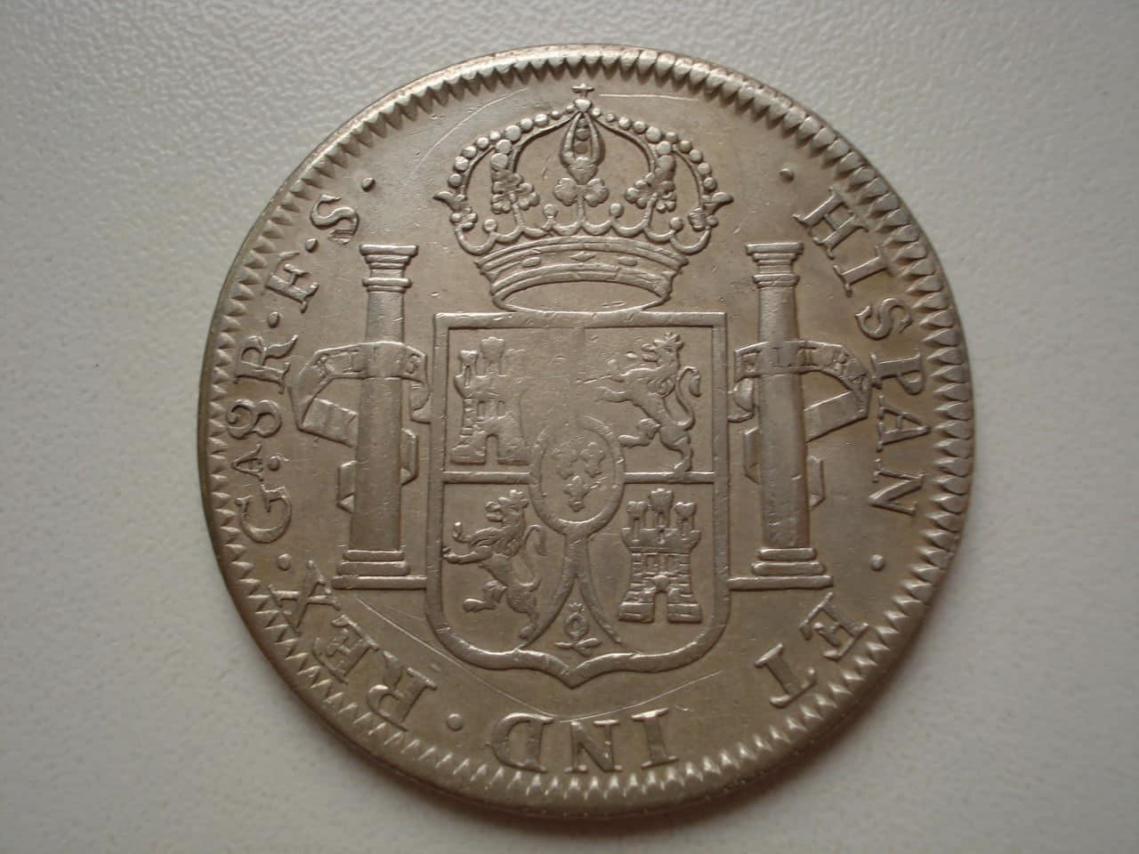 8 reales 1818 Guadalajara. Fernando VII. Guadalajara_1818_010