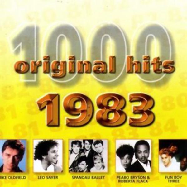 1000 Original Hits 1960-1999  1000_Original_Hits_1983_-_Front