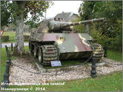 "Немецкий тяжелый танк PzKpfw V Ausf.G  ""Panther"",  rue D'Erezee, Manhay, Belgique Panther_Manhay_208"