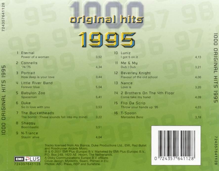 1000 Original Hits 1960-1999  - Stránka 2 1000_Original_Hits_1995_-_Back