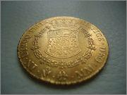 8 Escudos 1763 Carlos III  Mexico (cara-rata ) Image