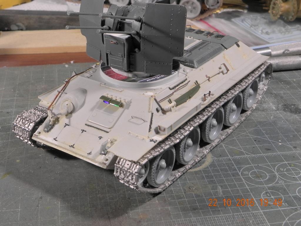 Flackpanzer 20mm T-34 DSCN7446