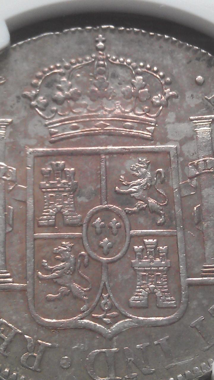 8 reales 1813 Fernando VII Guatemala IMAG0670