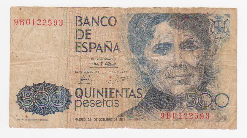 500 Pesetas 1979 (Serie 9B) 500_pesetas_serie_9_B