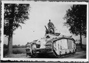 Камуфляж французских танков B1  и B1 bis Charb176