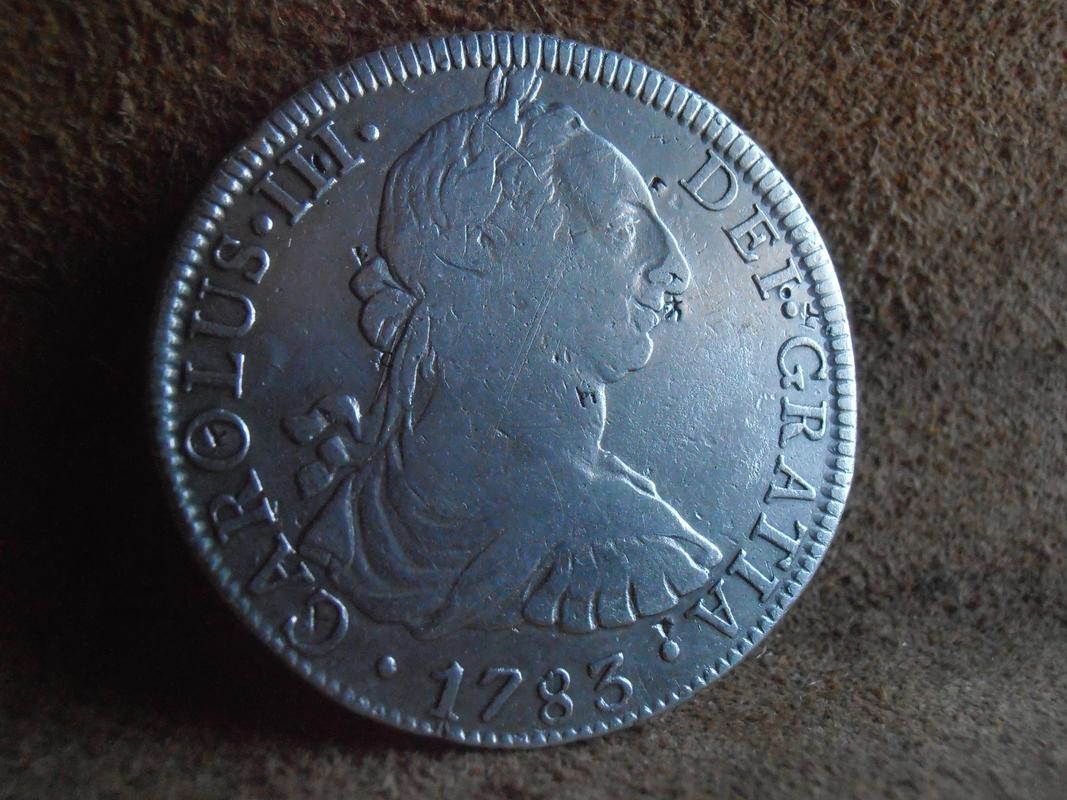 8 Reales 1783 de Méjico  P2240032