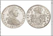 8 Reales 1809 Fernando VII Mexico ( busto imaginario ) Studio_20150421_162854