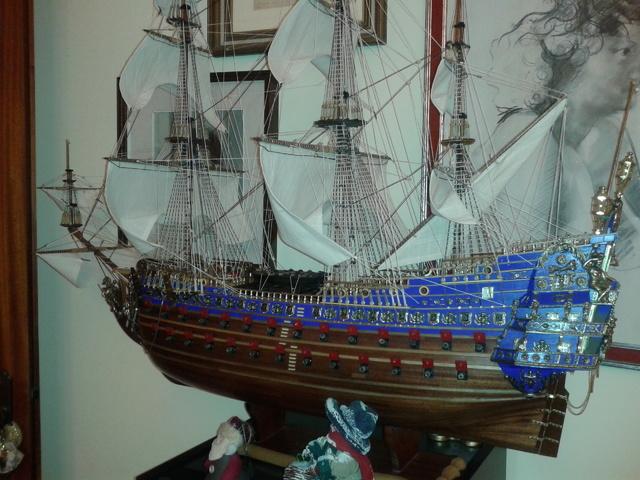 royal - I miei lavori terminati: Corazzata Bismarck, Soleil Royal, Victory. 20121211_190649